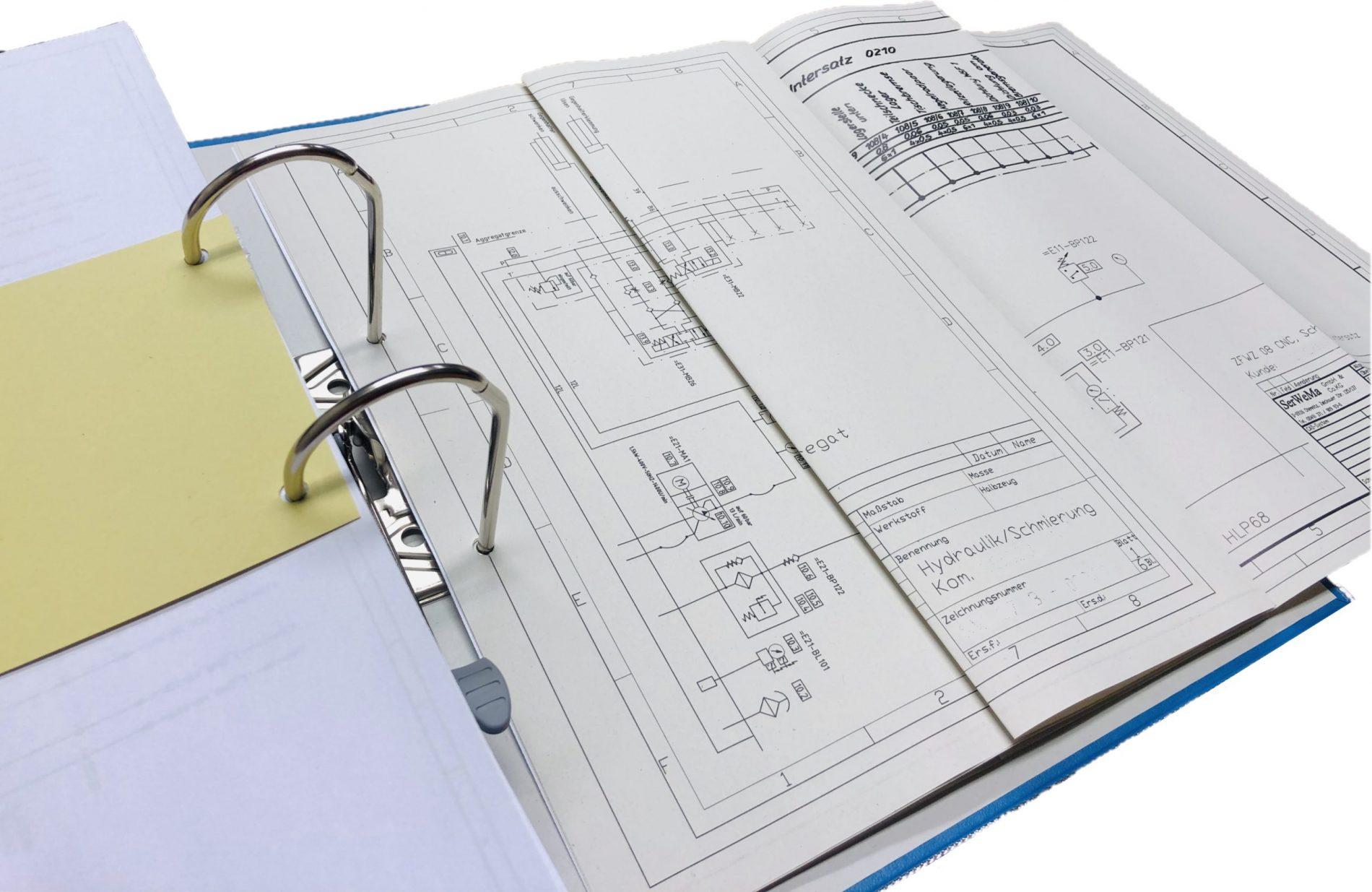 technische Unterlagen