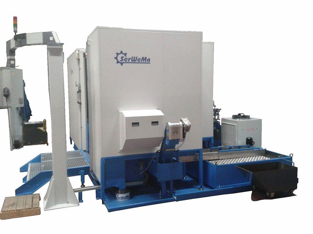SerWeMa SW PF 250x800 HR Rotorenfräsmaschine