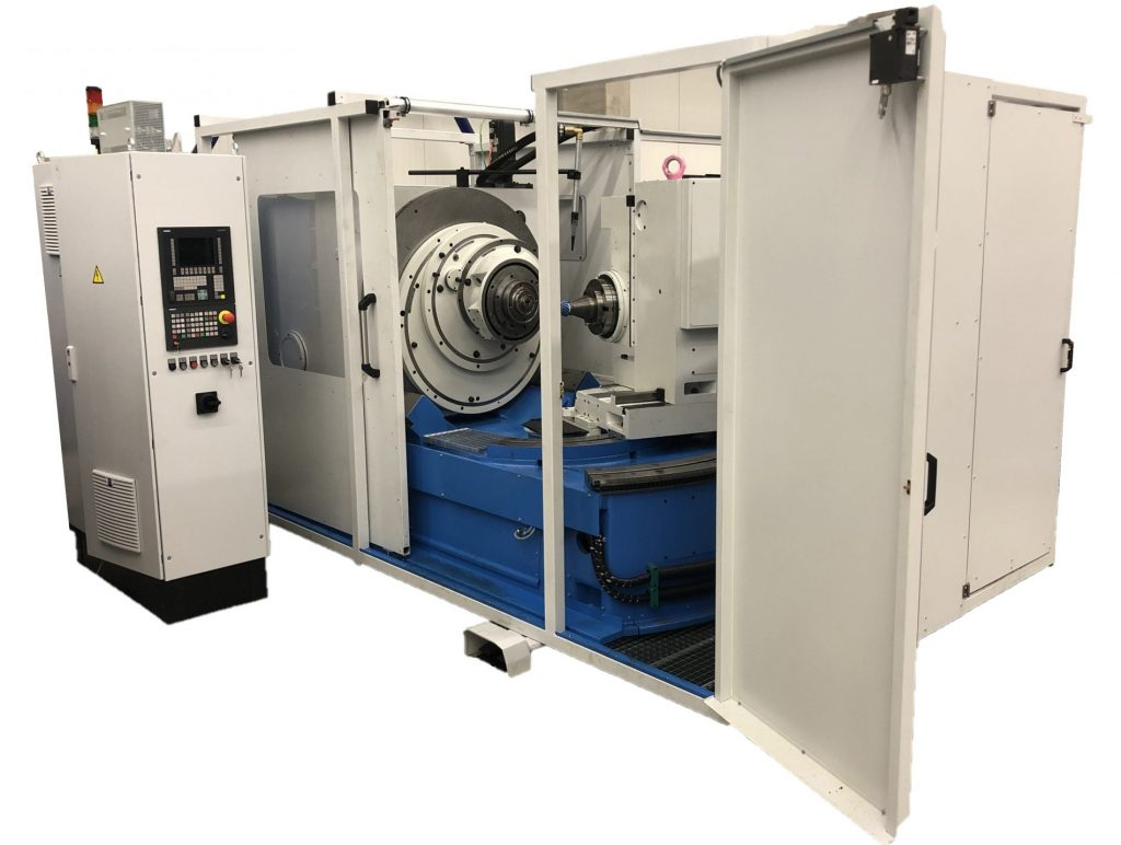 Neue Kegelradfräsmaschine (GLEASON/ARCOID)
